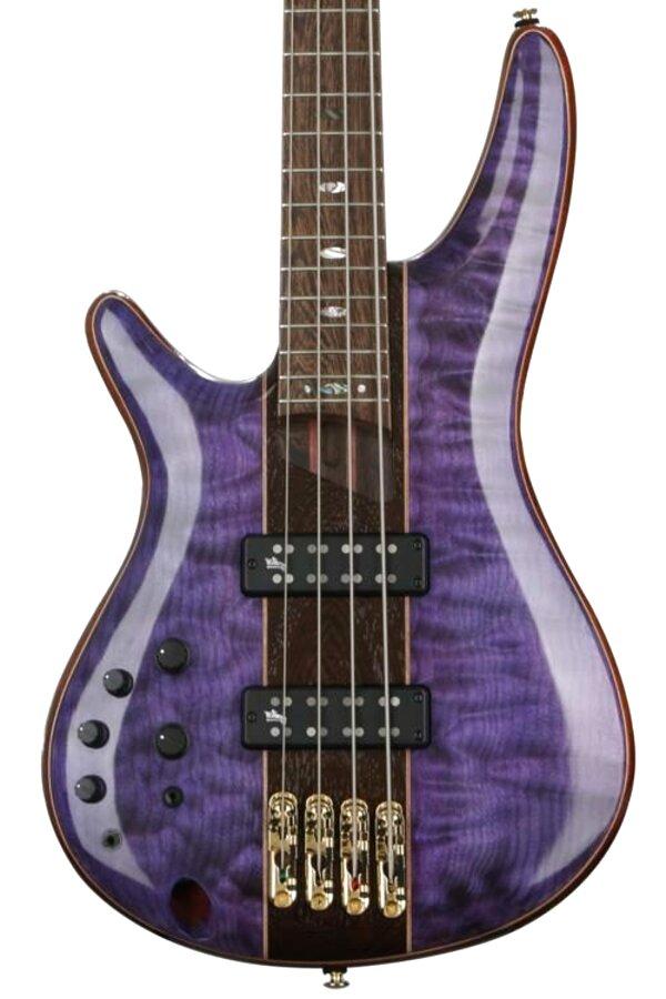 purple bass guitar for sale