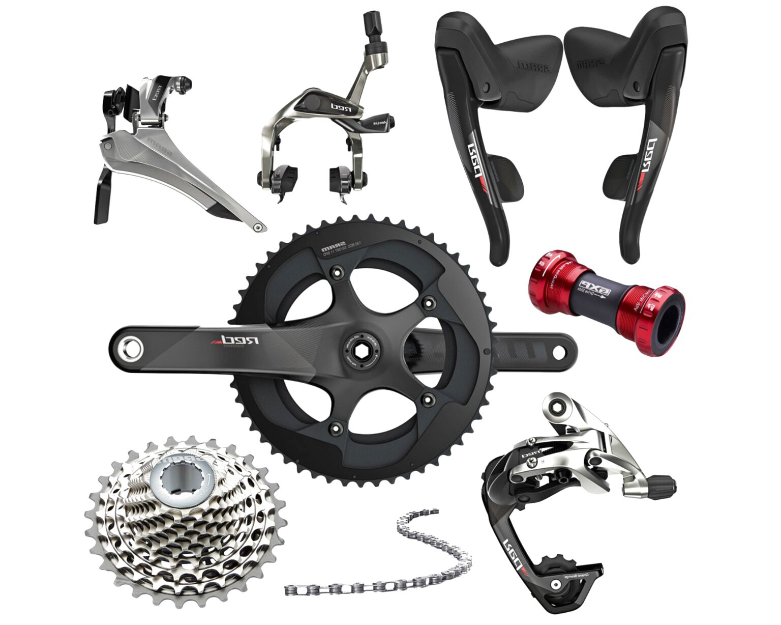 sram red groupset for sale