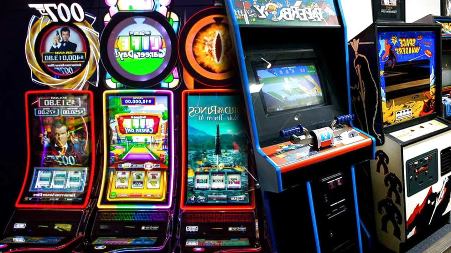 arcade slot machines for sale