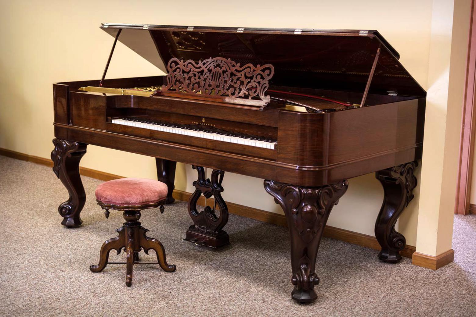 square grand piano for sale