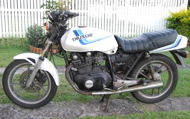 suzuki gs450 for sale
