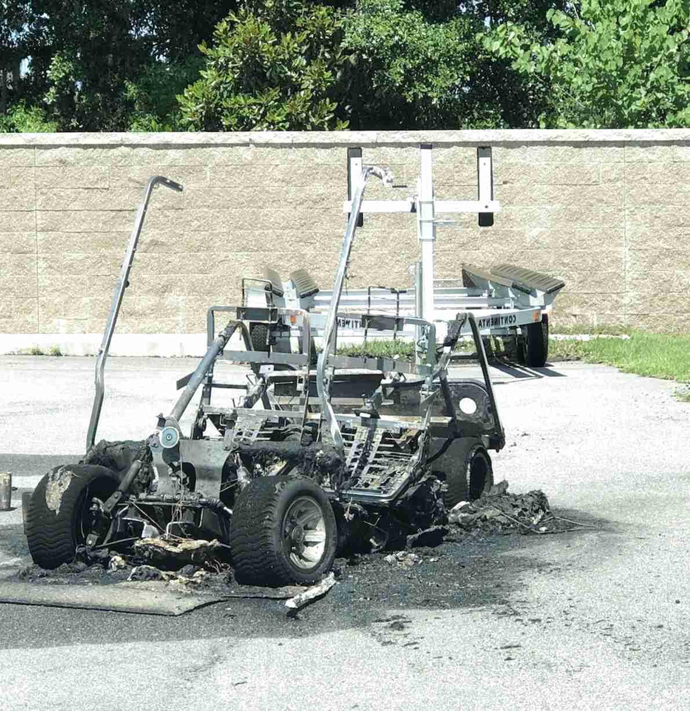 golf cart frame for sale