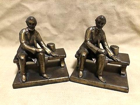 lincoln bookends for sale