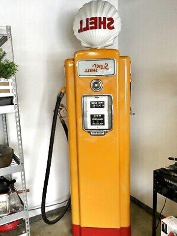 "OLD VINTAGE ORIGINAL/""DX LUBRICATING GASOLINE/'/' GAS PUMP CURVED AD GLASS"