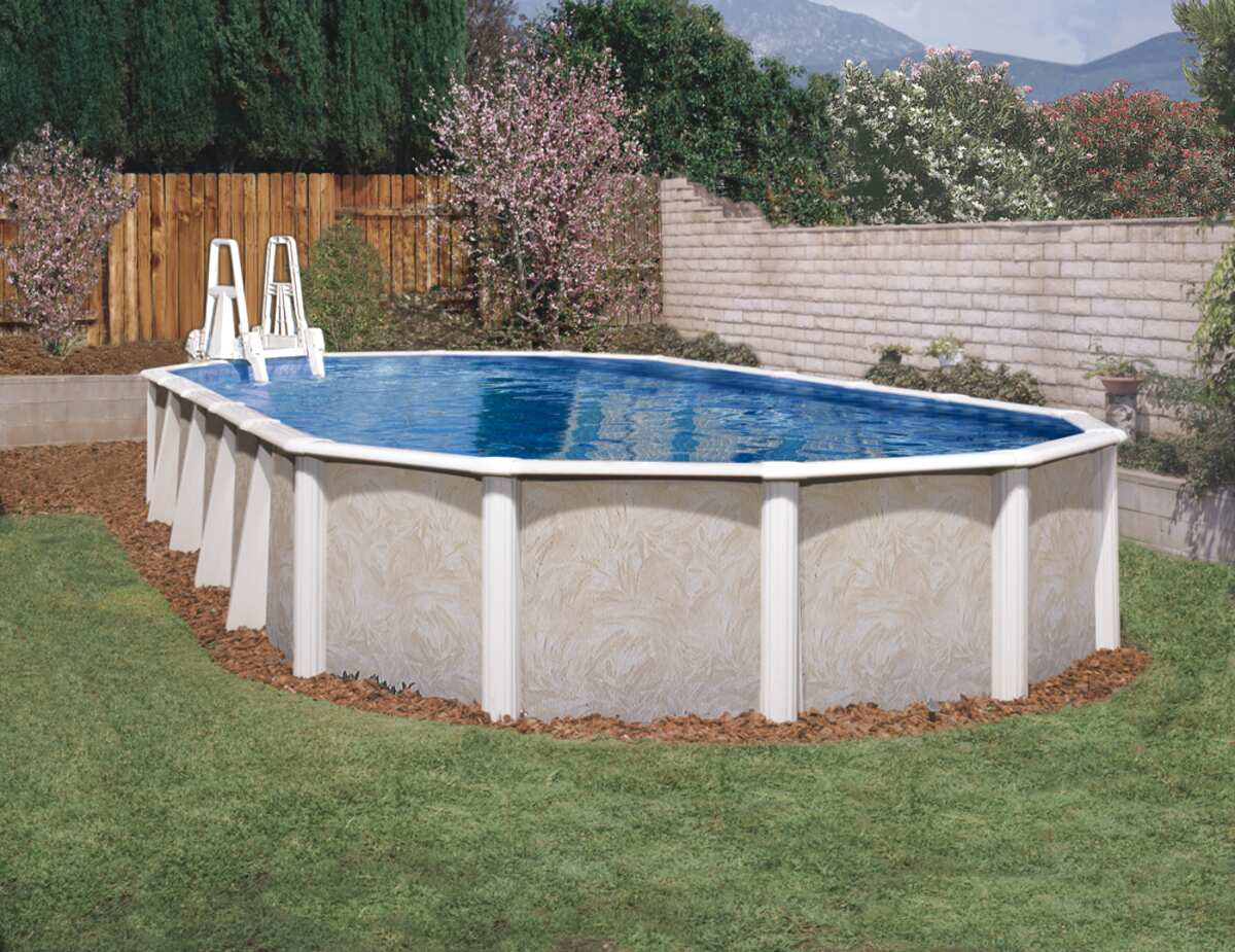 oval swimming pool for sale