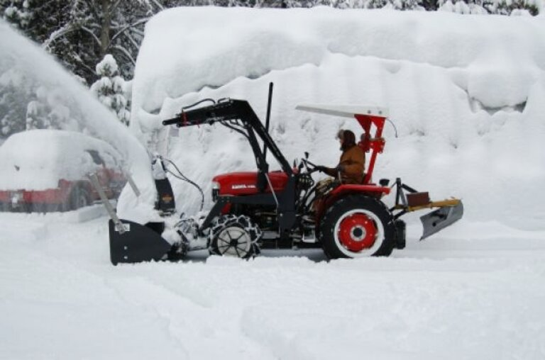 front mount snowblower for sale