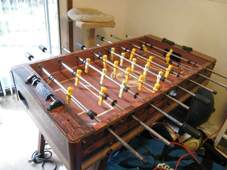tournament soccer foosball table for sale