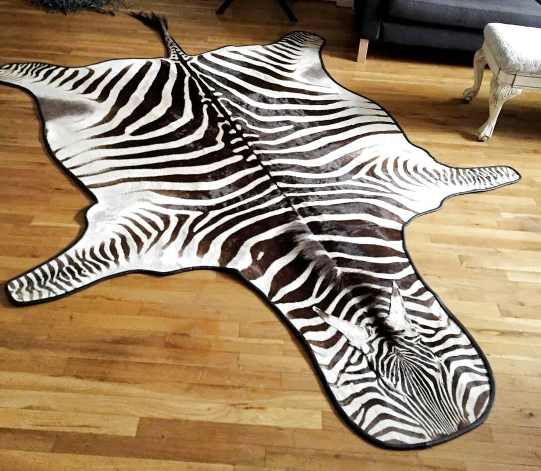 zebra rug for sale