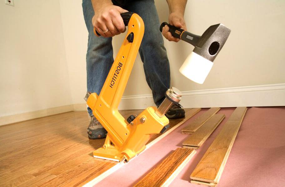 Hardwood Floor Nailer For Only 2