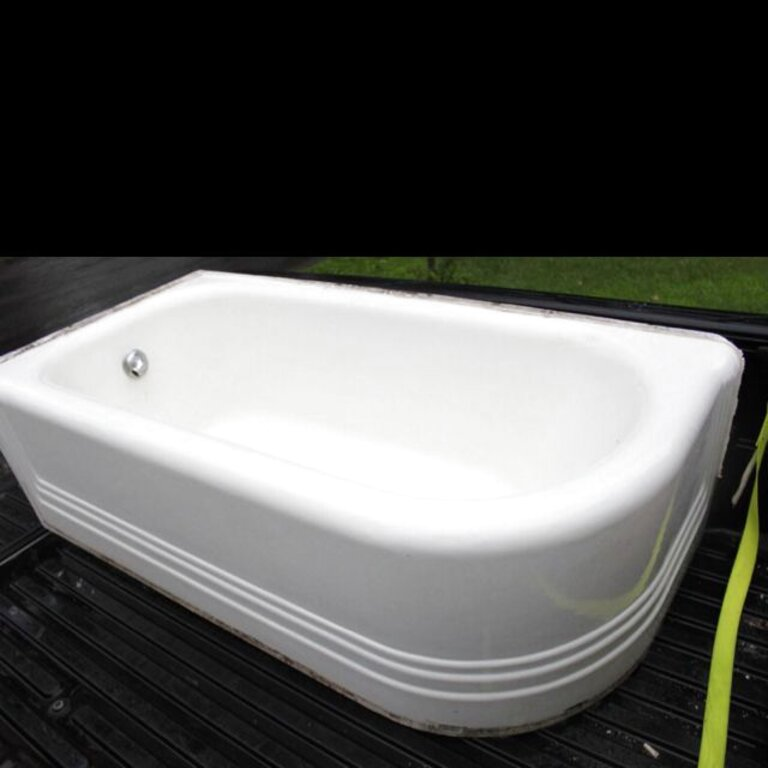 vintage corner bathtub for sale