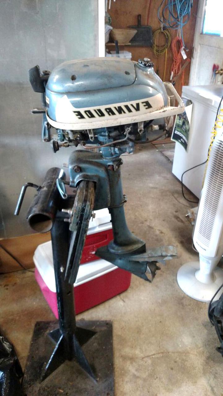 vintage evinrude outboard motor for sale