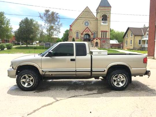 chevy s10 4x4 for sale