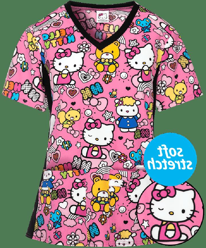 hello kitty nursing scrubs for sale