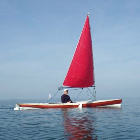 sailing canoe for sale
