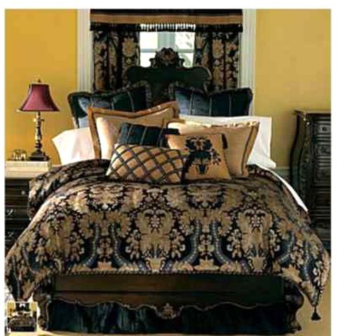 Chris Madden Marbella Paisley Rusty Red, Chris Madden Bedding Discontinued