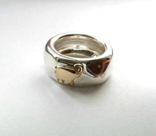 gucci anello oro usato