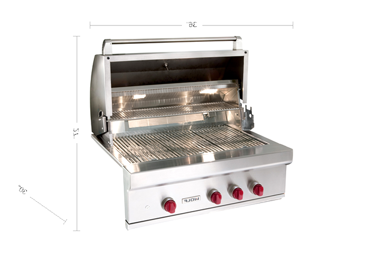 wolf grill for sale