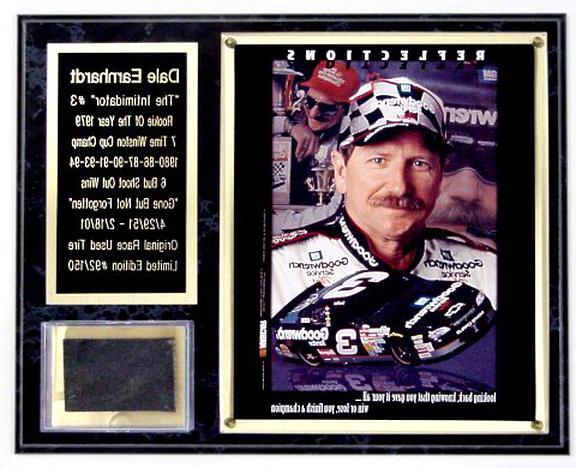 dale earnhardt plaque for sale