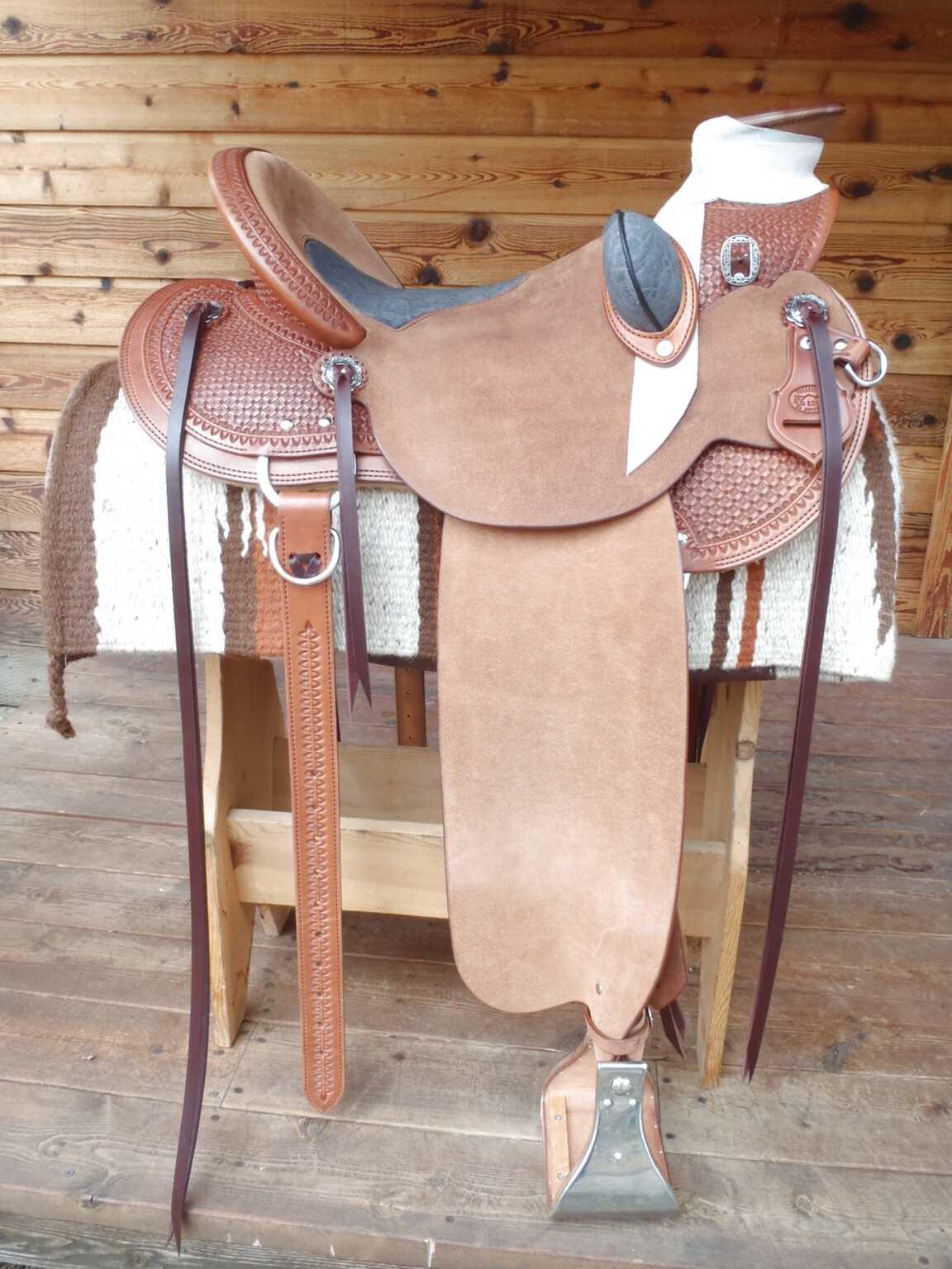 custom wade saddle for sale