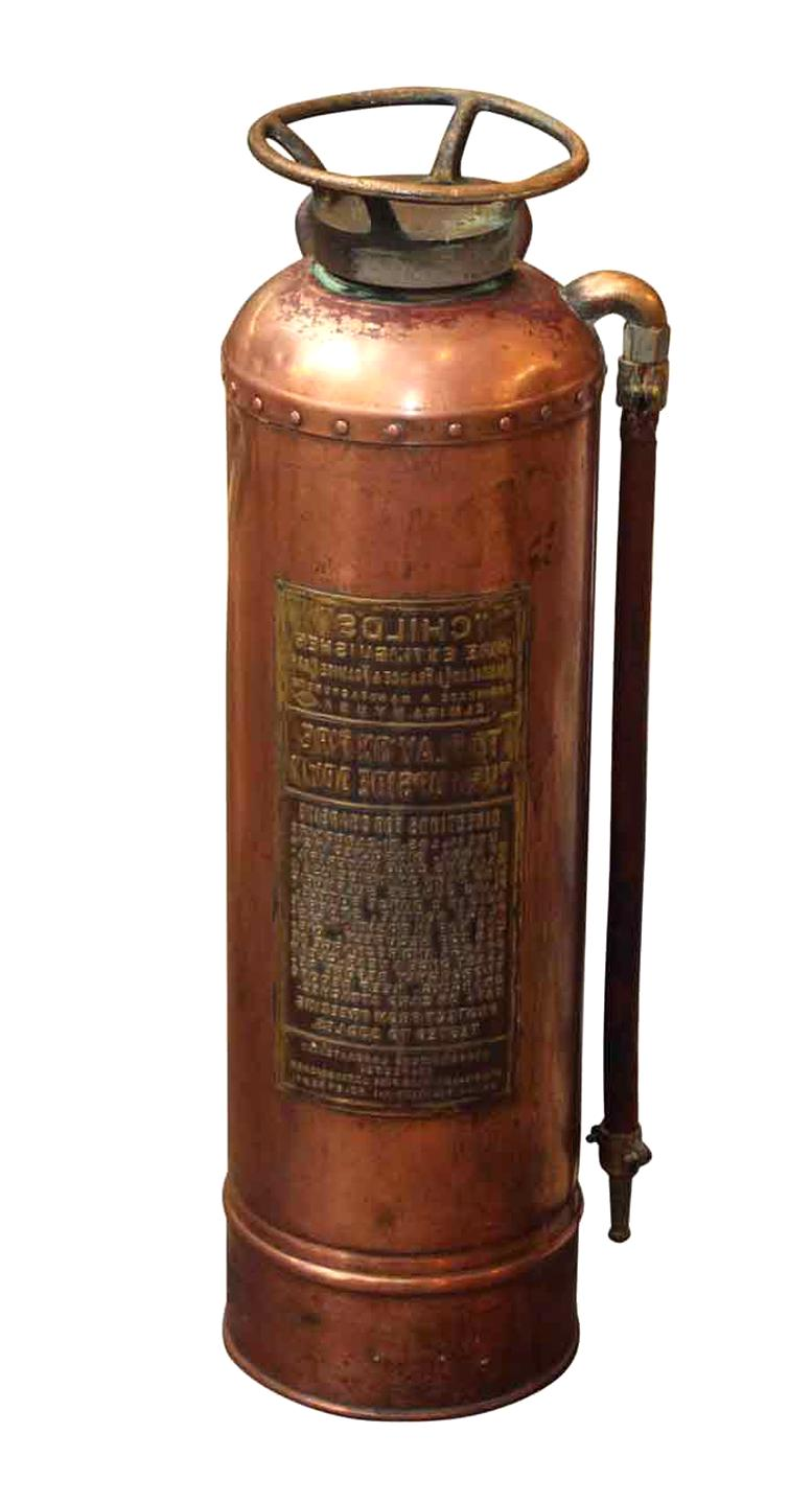 Antique Fire Extinguisher For
