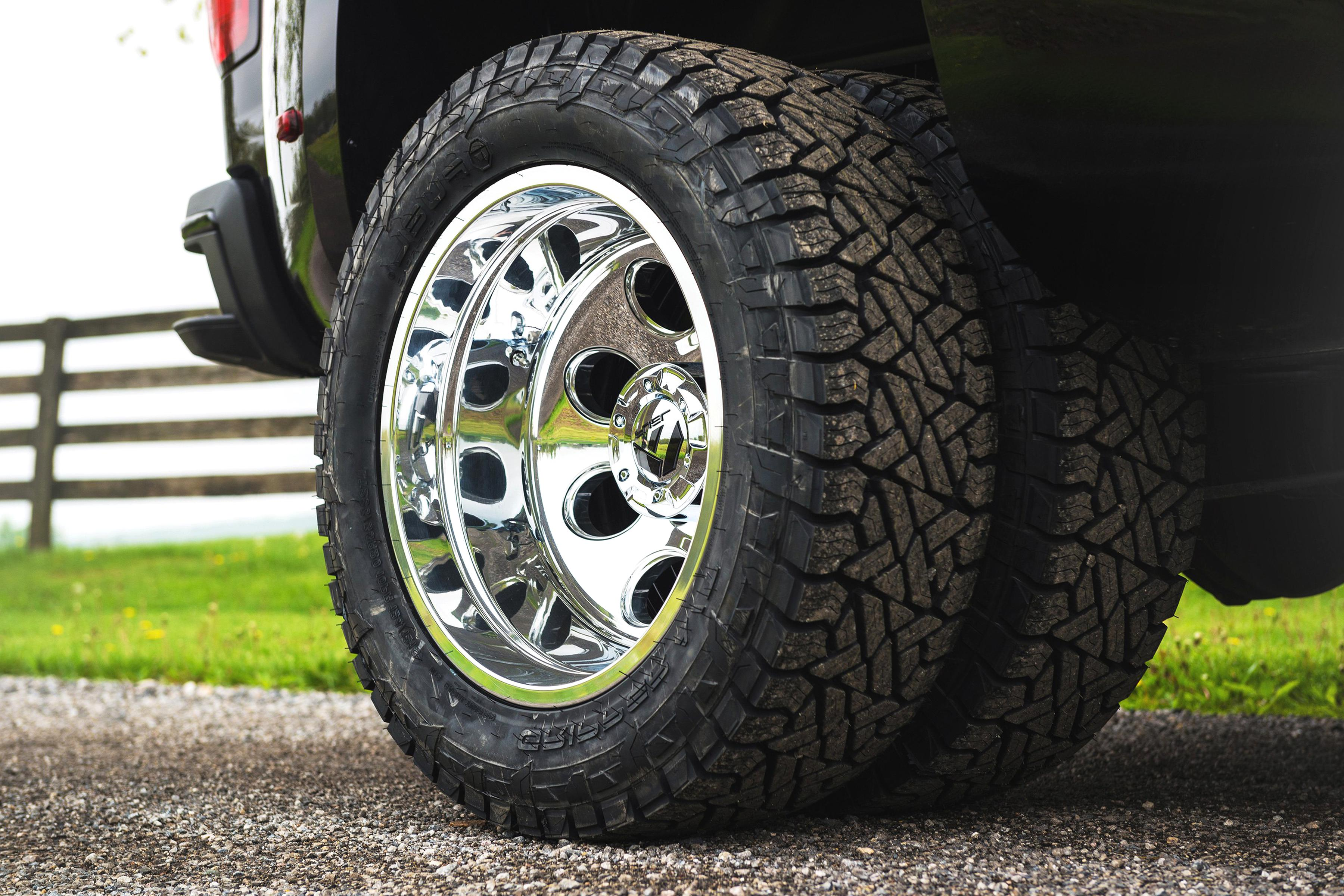 Fuel Dually Wheels >> Dually Wheels For Sale Only 4 Left At 75