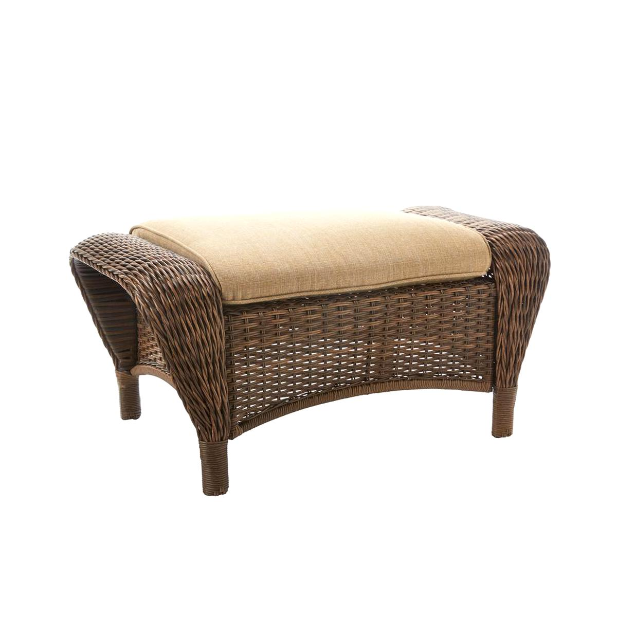 Outstanding Wicker Ottoman For Sale Only 3 Left At 65 Ncnpc Chair Design For Home Ncnpcorg
