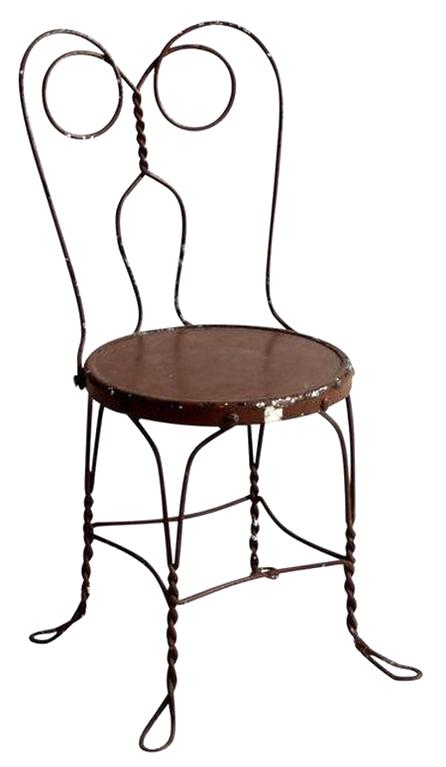 Ice Cream Parlor Chairs For Sale Only 2 Left At 70