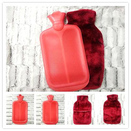 hot water bottle cover red for sale