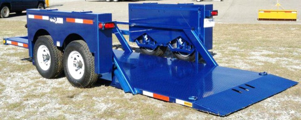 hydraulic lift trailer for sale