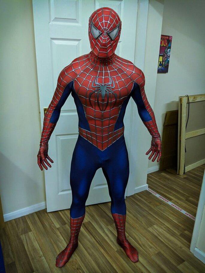 spiderman costume replica for sale