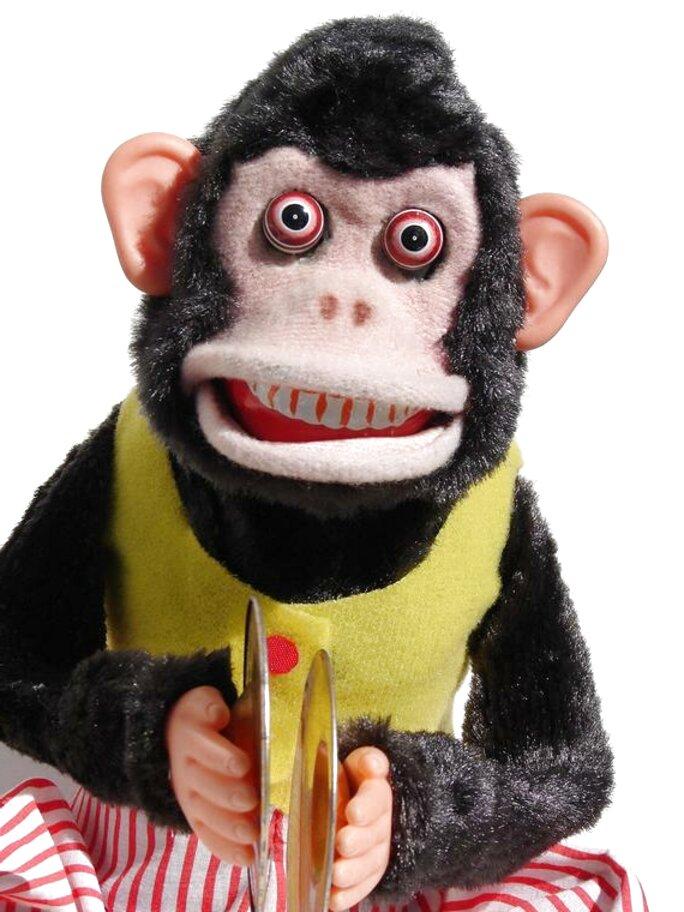 Naughtiness Cymbals Chimp YAMANI Nostalgic Musical Jolly Monkey Toy Story