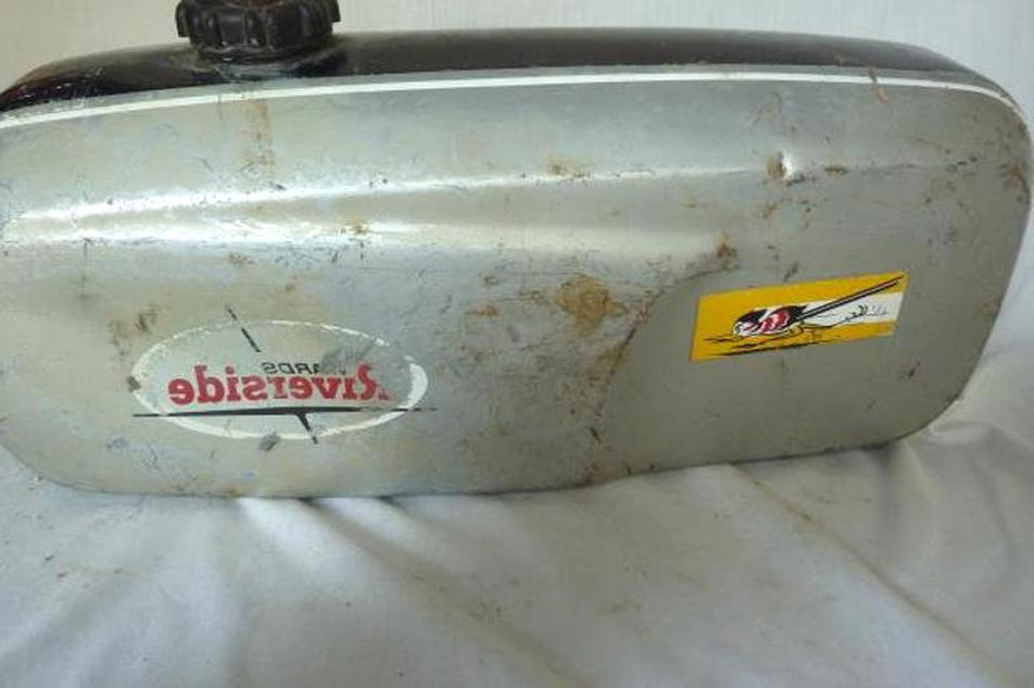 Vintage Motorcycle Gas Tank For Sale Only 2 Left At 75
