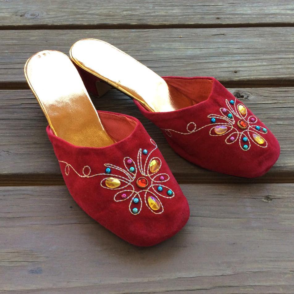 vintage slippers for sale