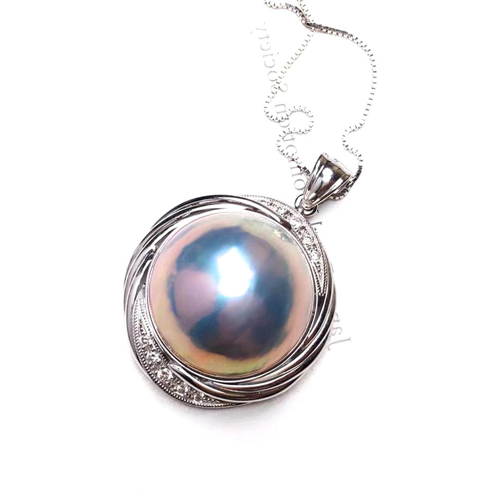 mabe pearl pendant for sale