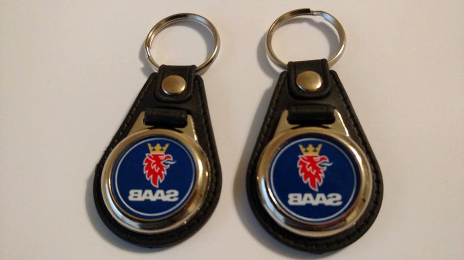 saab keychain for sale