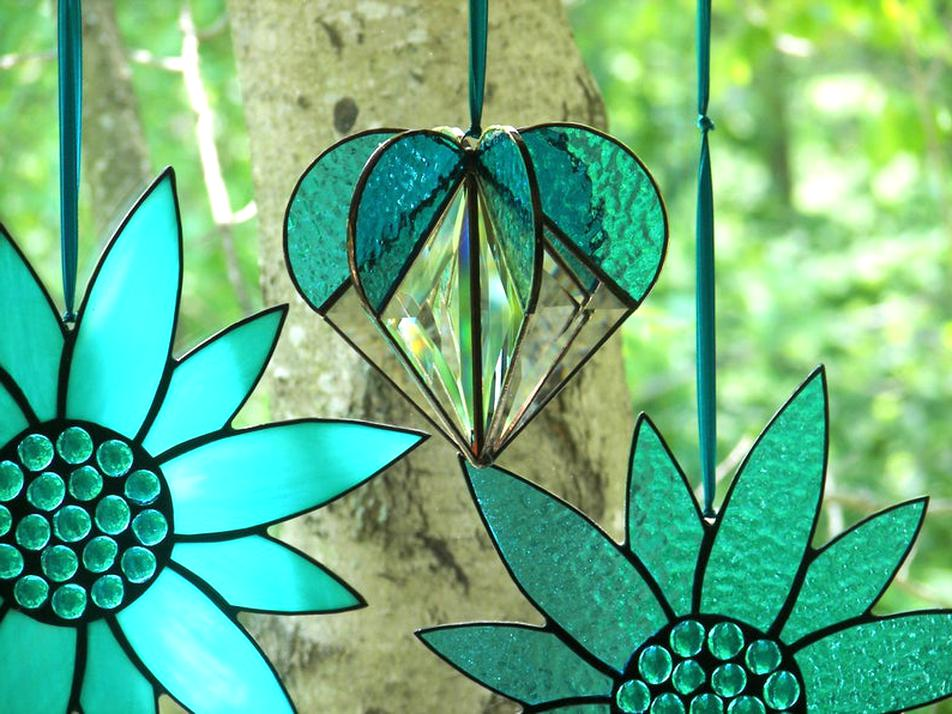 stained glass suncatcher for sale