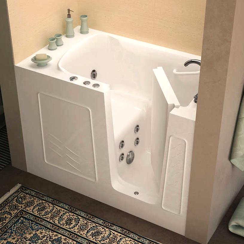walk bathtub for sale