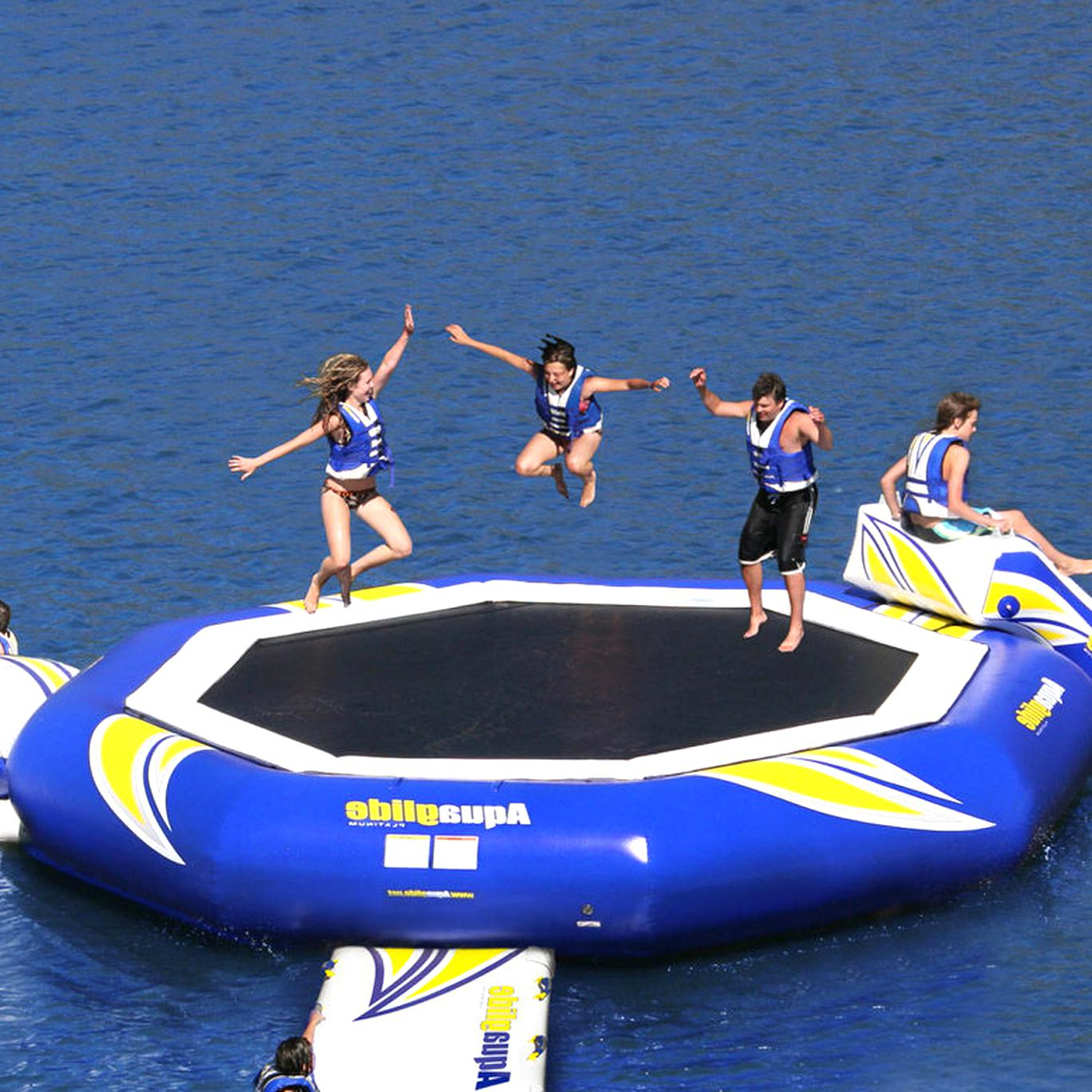aquaglide water trampoline for sale