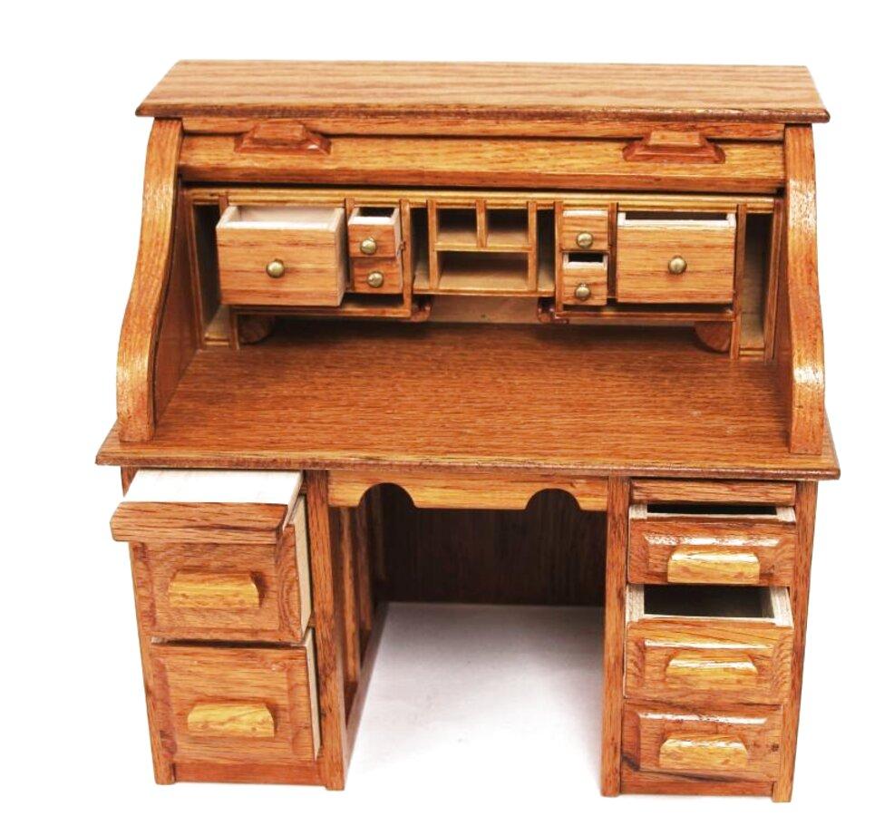 Oak Roll Top Desk for sale  Only 44 left at -44%