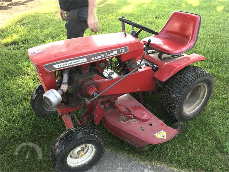 wheel horse for sale