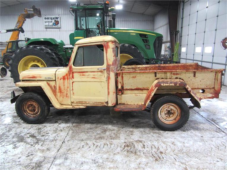 Willys Jeep Truck For Sale >> Willys Jeep Truck For Sale Only 2 Left At 70