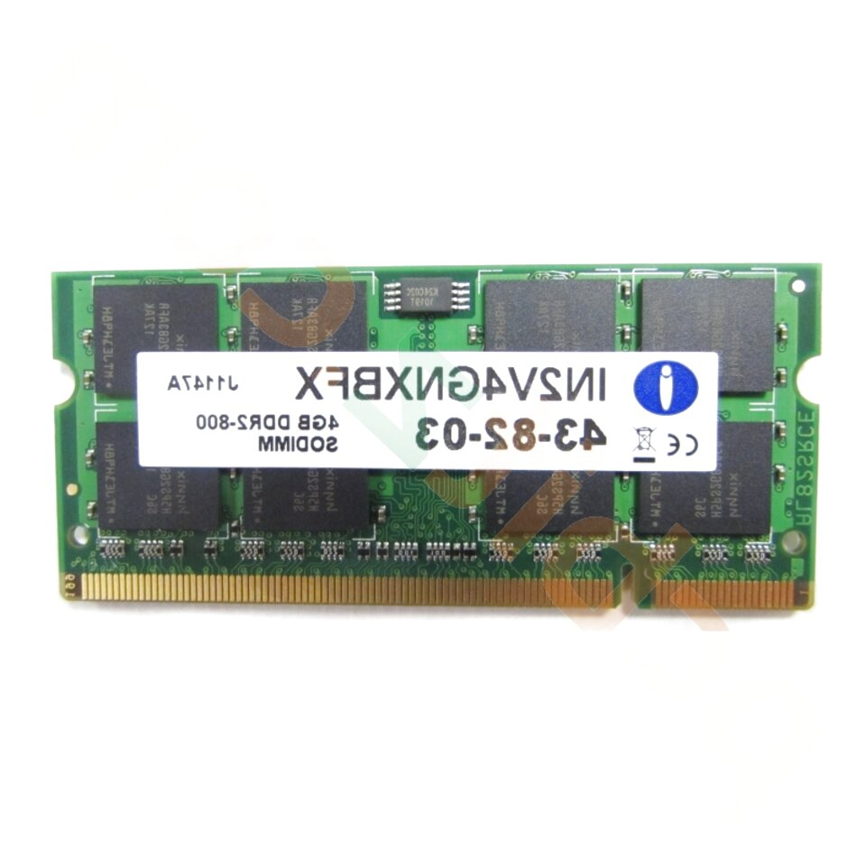 4gb 200 pin sodimm ddr2 pc2 6400 for sale