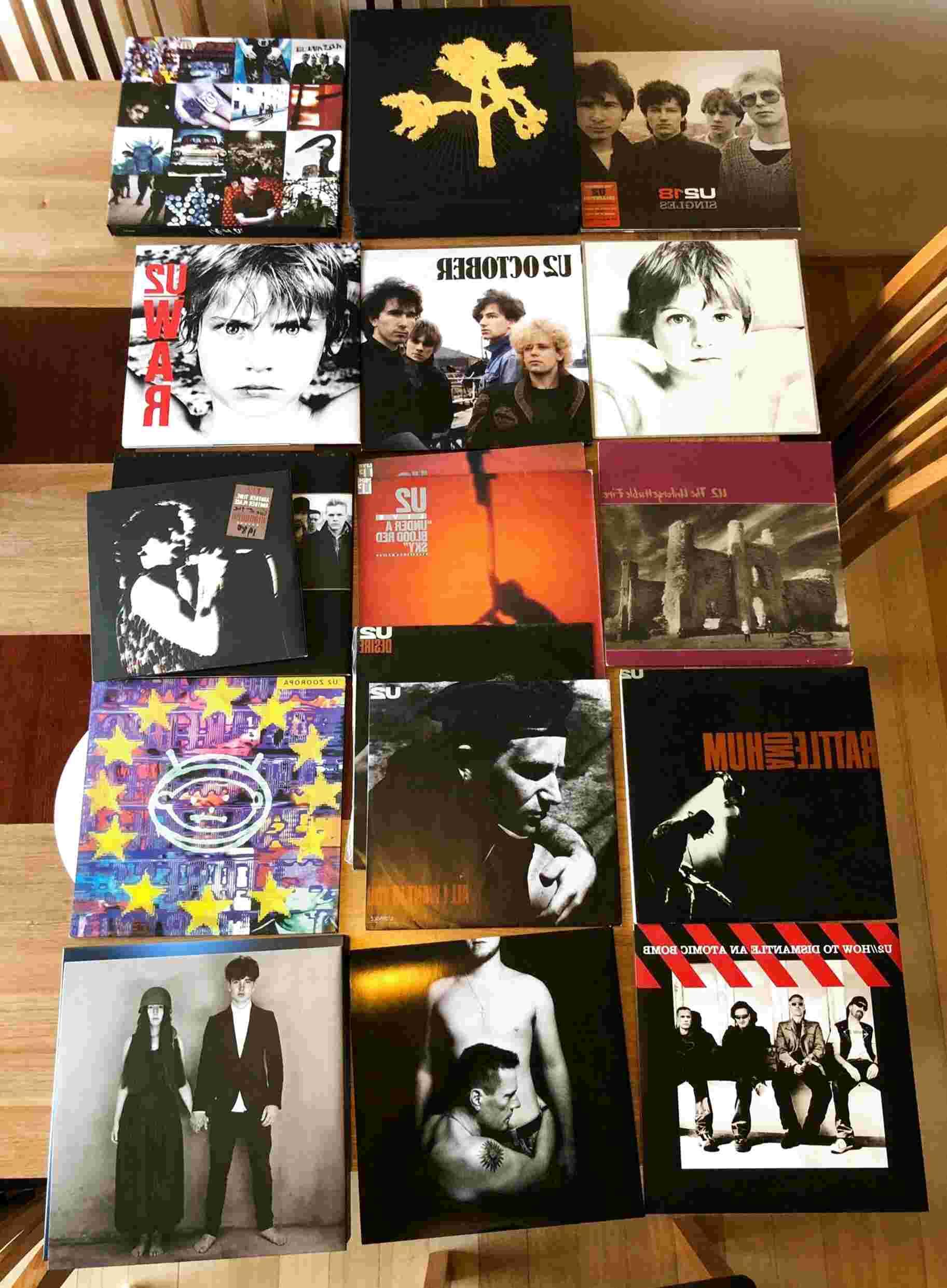 u2 vinyl for sale