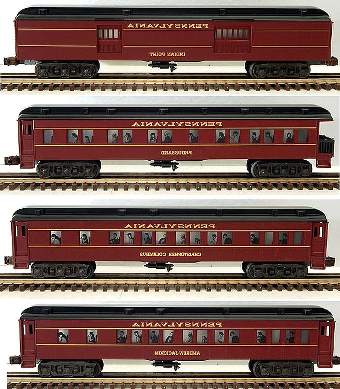 o gauge passenger cars for sale