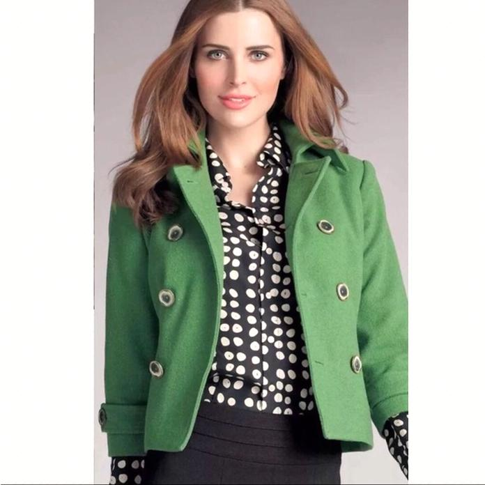 cabi green wool for sale