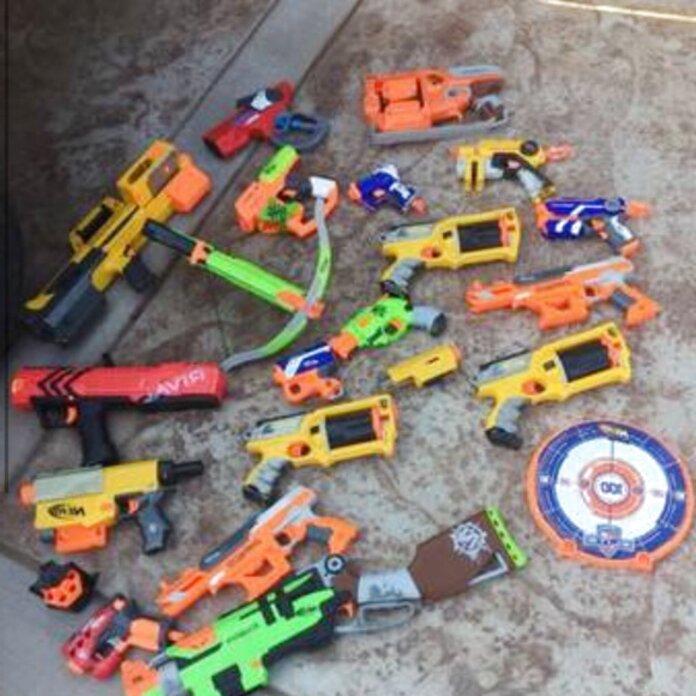 nerf gun lot for sale