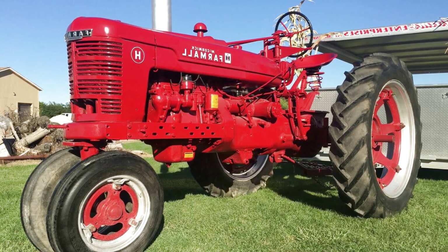 1950 farmall tractor for sale