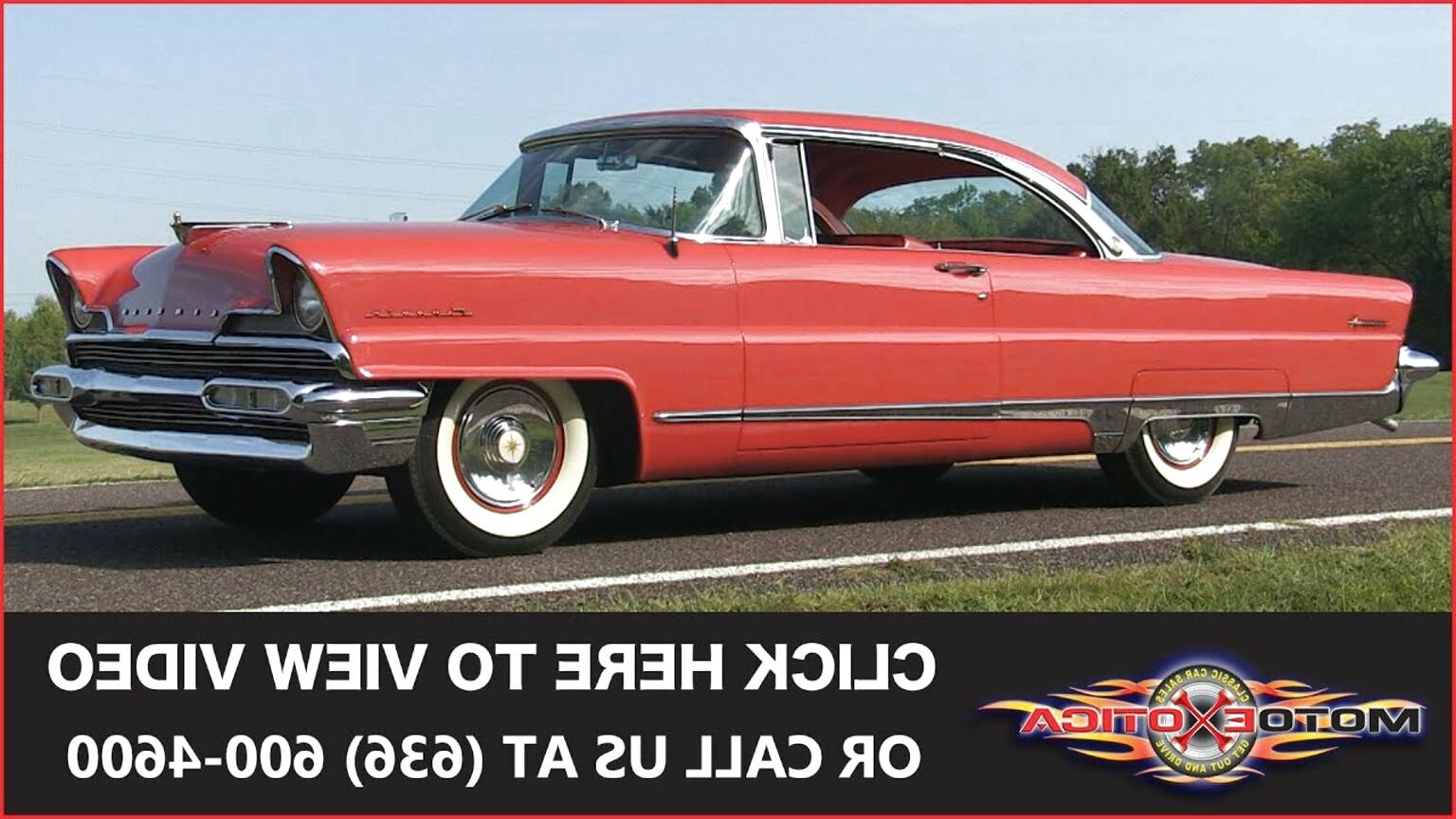 1956 lincoln for sale