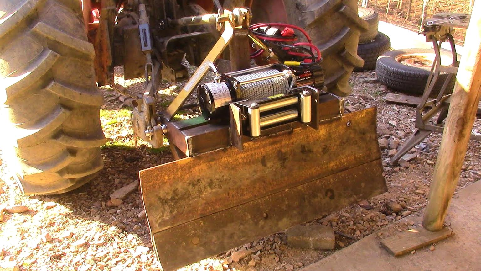 3 point hitch winch for sale