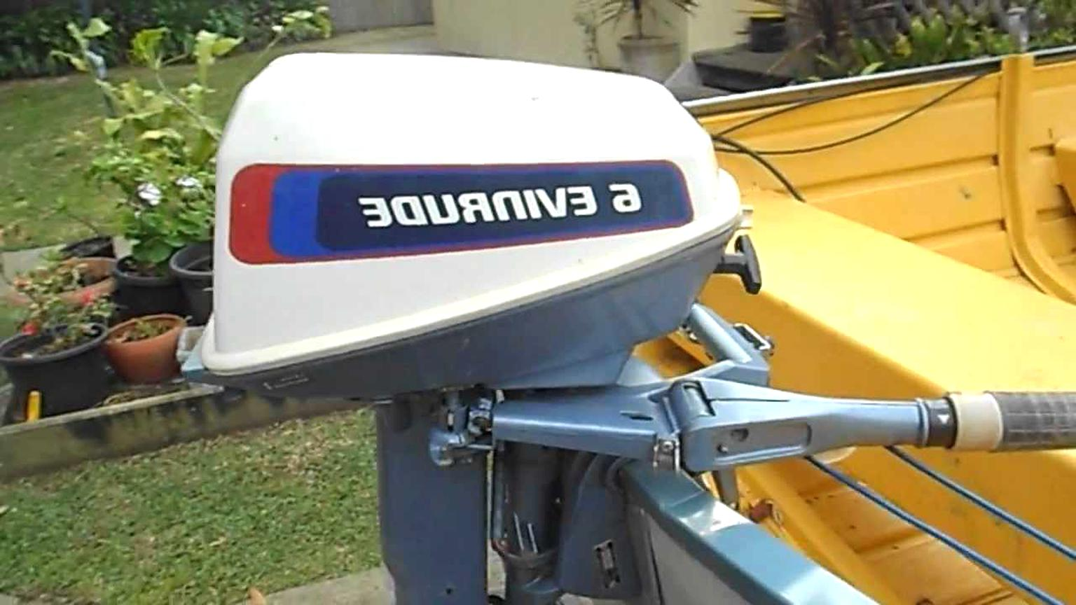 6 hp evinrude for sale